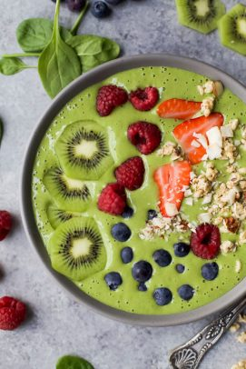Image of a Green Smoothie Bowl