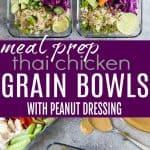 Thai Chicken Grain Bowl