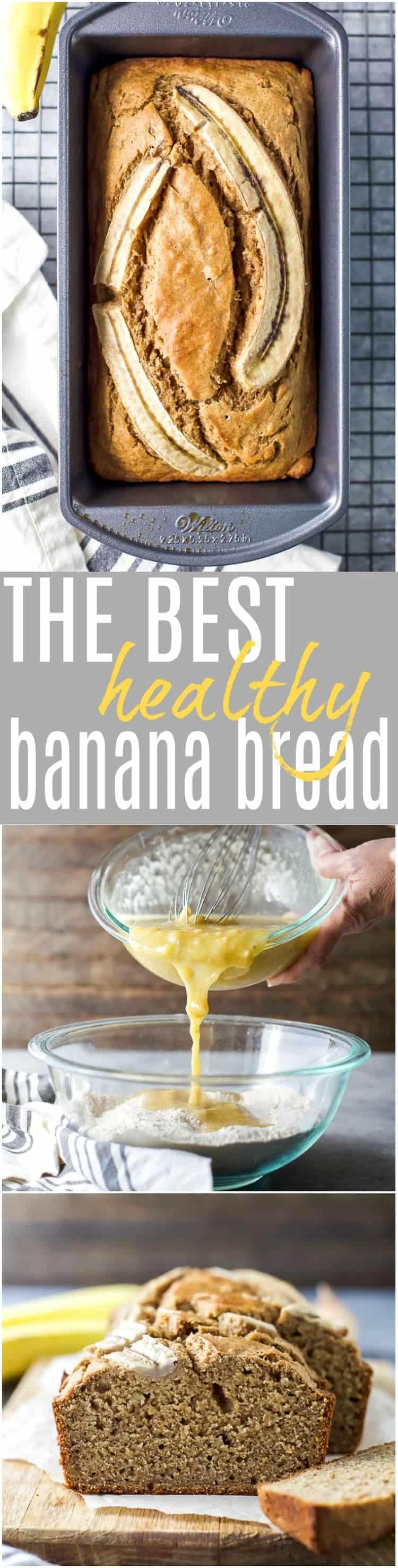 Healthy Banana Bread Recipe | Easy & Delicious Banana Bread!