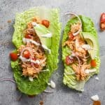 Image of Two Buffalo Chicken Lettuce Wraps