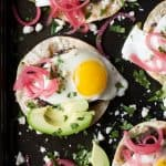 Image of Huevos Rancheros Breakfast Tostadas