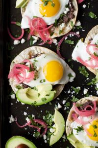 Image of Huevos Rancheros Breakfast Tostadas