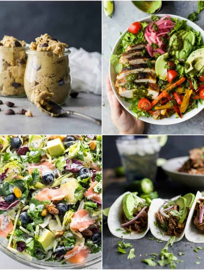 40 of the BEST Light & Easy Gluten Free Recipes - recipes for breakfast, lunch and dinner all made with fresh ingredients and filled with flavor!