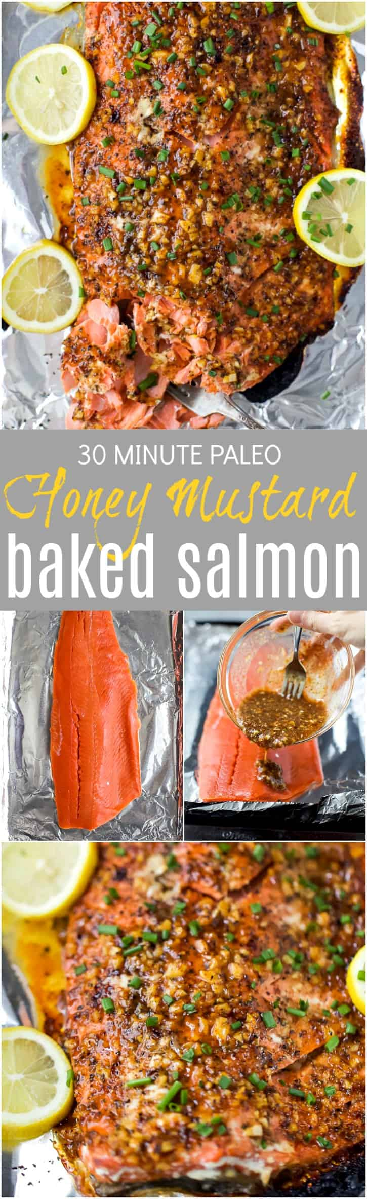 Title Image for Honey Mustard Baked Salmon