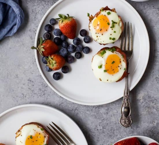 PROSCIUTTO BAKED EGG CUPS