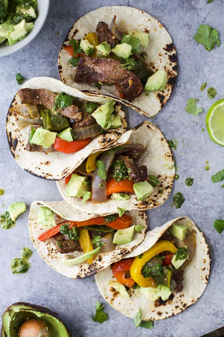 Image of Sheet Pan Steak Fajitas