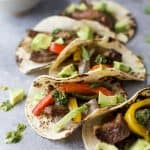 Image of Five Sheet Pan Steak Fajitas