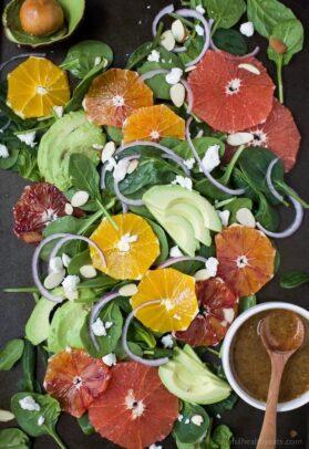 Winter Fruit Avocado Salad Recipe | The Best Avocado Salad Recipe