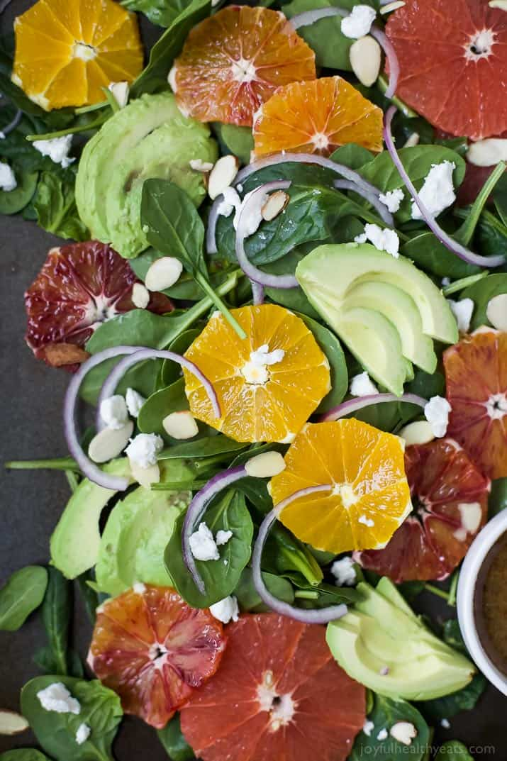 Winter Fruit Avocado Salad Recipe