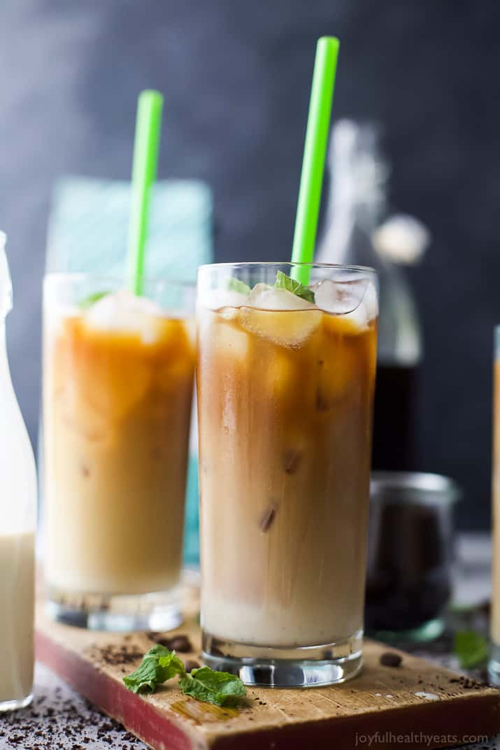 How to make the BEST Iced Coffee Cold Brew with a Sweet Cream finish. It's