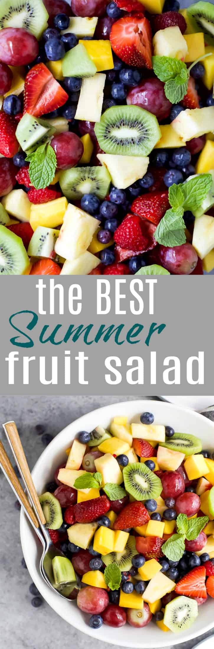 Title Image for The Best Summer Fruit Salad