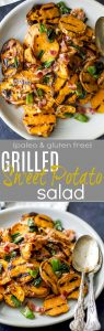 Grilled Sweet Potato Salad | Healthy & Easy Sweet Potato Recipe