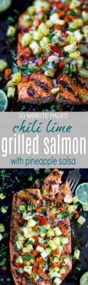 Chili Lime Grilled Salmon with Pineapple Salsa_long