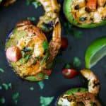 Grilled Cilantro Lime Shrimp in Avocado -web-6