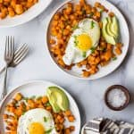 Paleo Sweet Potato Hash & Eggs