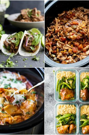 25 of the BEST Easy Crock Pot Recipes you need to make this fall! You'll love how fast and delicious these crock pot recipes are!