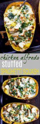 Chicken Alfredo Stuffed Spaghetti Squash_long