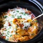 Image of Crock Pot Turkey Spinach Stuffed Shells