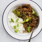The BEST Healthy Instant Pot Mongolian Beef