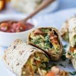 Freezer Bacon & Egg Breakfast Burrito -web-6