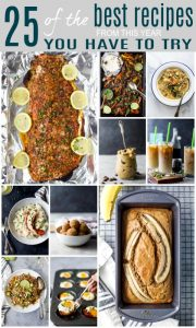 pinterest pin for 25 of the BEST Healthy Recipes from this year