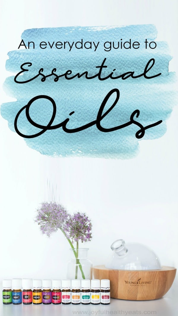infographic for young living essential oils starter kit