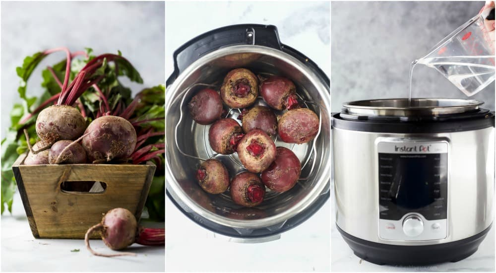 photos of how to make beets in the instant pot
