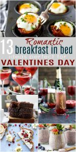 pinterest image for 13 Romantic Breakfast in Bed Ideas Perfect for Valentines Day