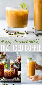 Coconut Milk Thai Iced Coffee Recipe | Delicious & Easy Iced Coffee!