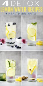 Slimming Detox Water | 4 Easy & Delicious Detox Water Recipes
