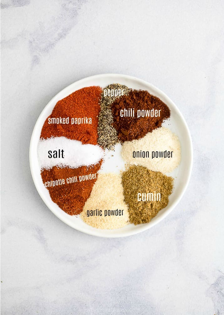 5 of the BEST Dry Rub Recipes for Chicken - smoky chipotle dry rub