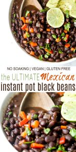 pinterest photo for the ultimate mexican instant pot black beans