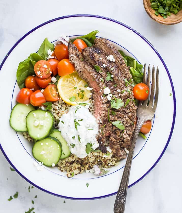 Mediterranean Chicken Quinoa Bowl Recipe: Easy Healthy Recipes Using Real