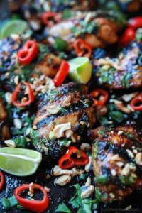 Image of Spicy Thai Grilled Chicken
