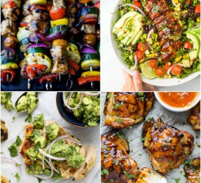 feature image for the top 25 grilled chicken recipes you need to make this summer
