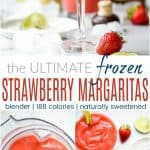 The Ultimate Blender Frozen Strawberry Margaritas_pin2