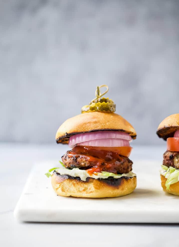 The Ultimate Grilled Turkey Burger Recipe | Best Turkey Burgers
