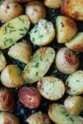 Image of Easy Garlic Ranch Potatoes