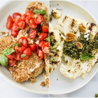 5 day meal plan featuring 30 minute meals