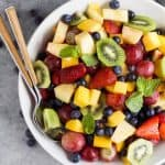 Image of The Best Summer Fruit Salad in a Bowl