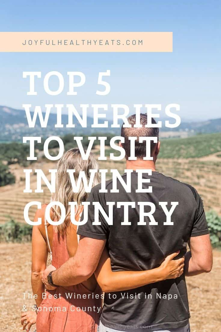 The Top 5 Wineries to Visit in California's Wine Country | Sonoma County and Napa Valley