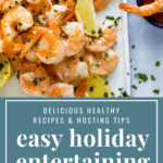pinterest image for 8 Easy Hosting Tips for Stress-free Holiday Entertaining