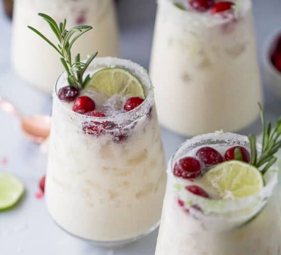 easy white christmas margarita pitcher recipe