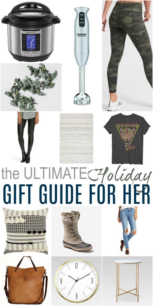 pinterest image for the 2019 ultimate holiday gift guide