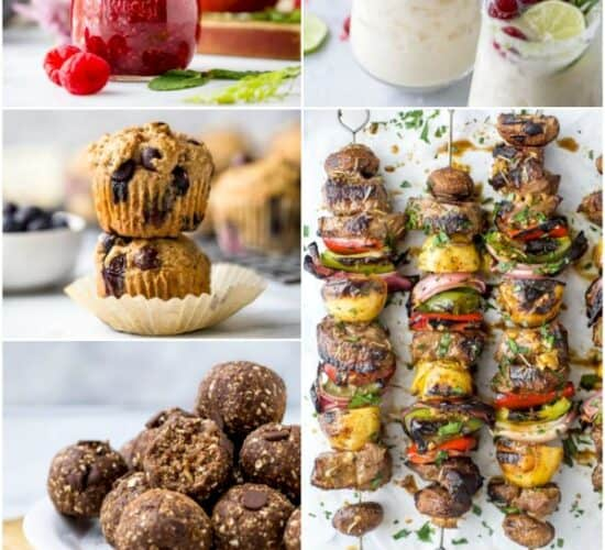 20 of the best healthy recipes from 2019 pinterest image