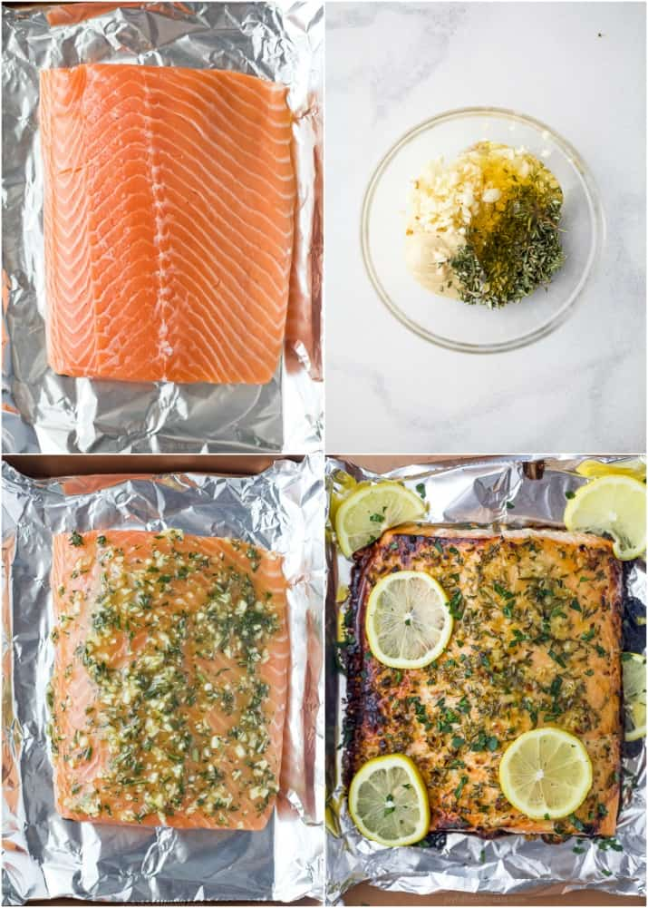 how to make baked honey garlic salmon in foil