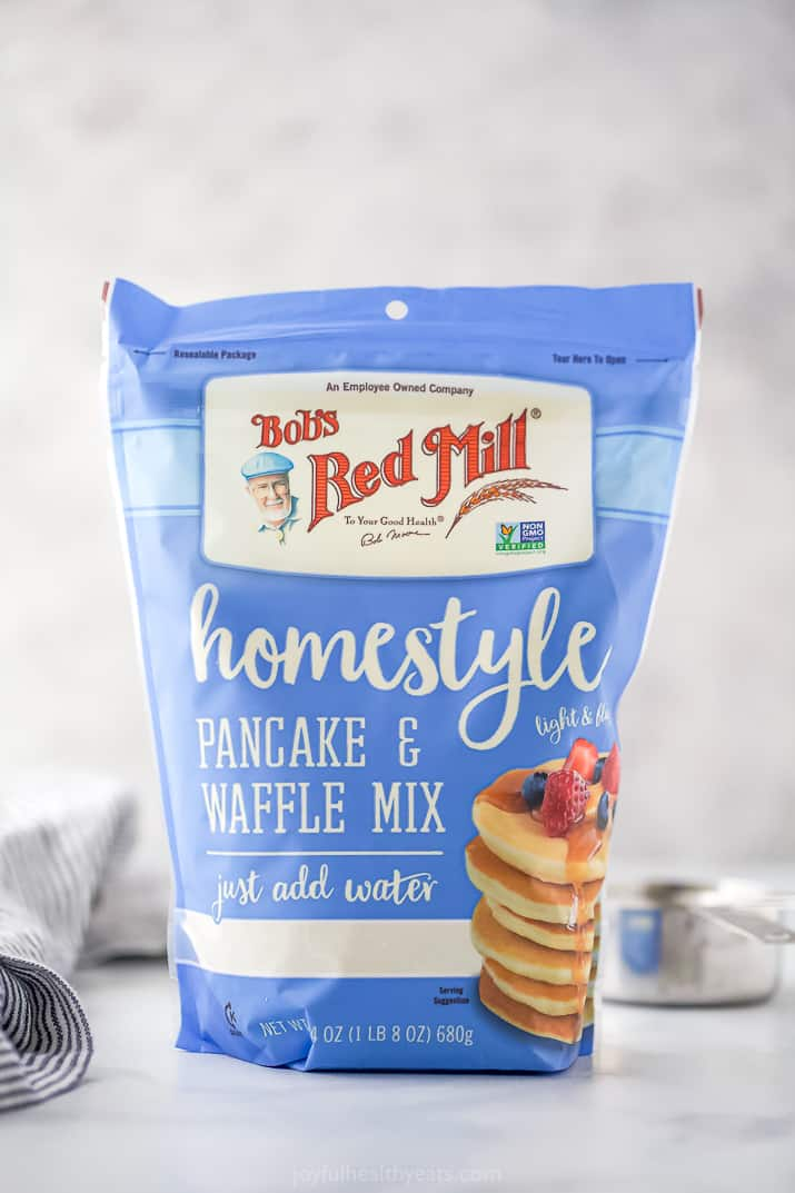 a package of bobs red mill pancake mix