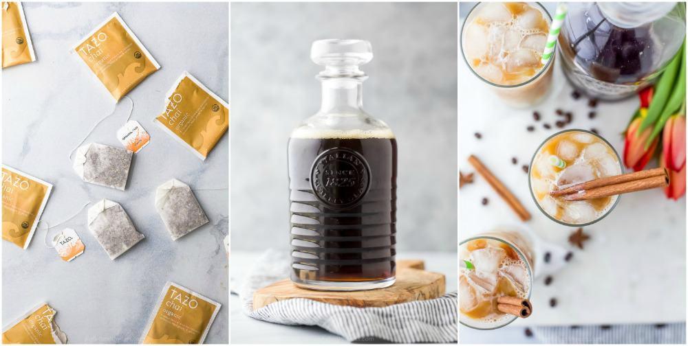 how to make an iced chai tea latte recipe