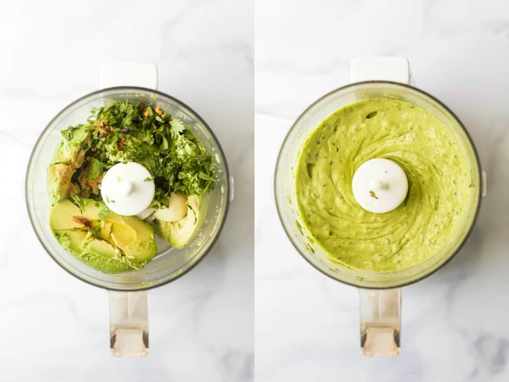 avocado crema for baja fish tacos