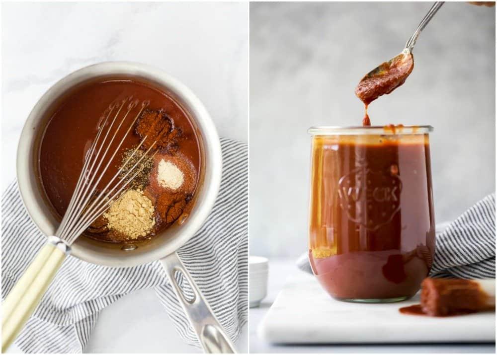 how to make homemade bbq sauce